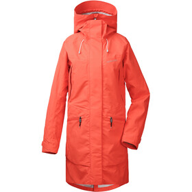 DIDRIKSONS Ilma Parka Women coral red